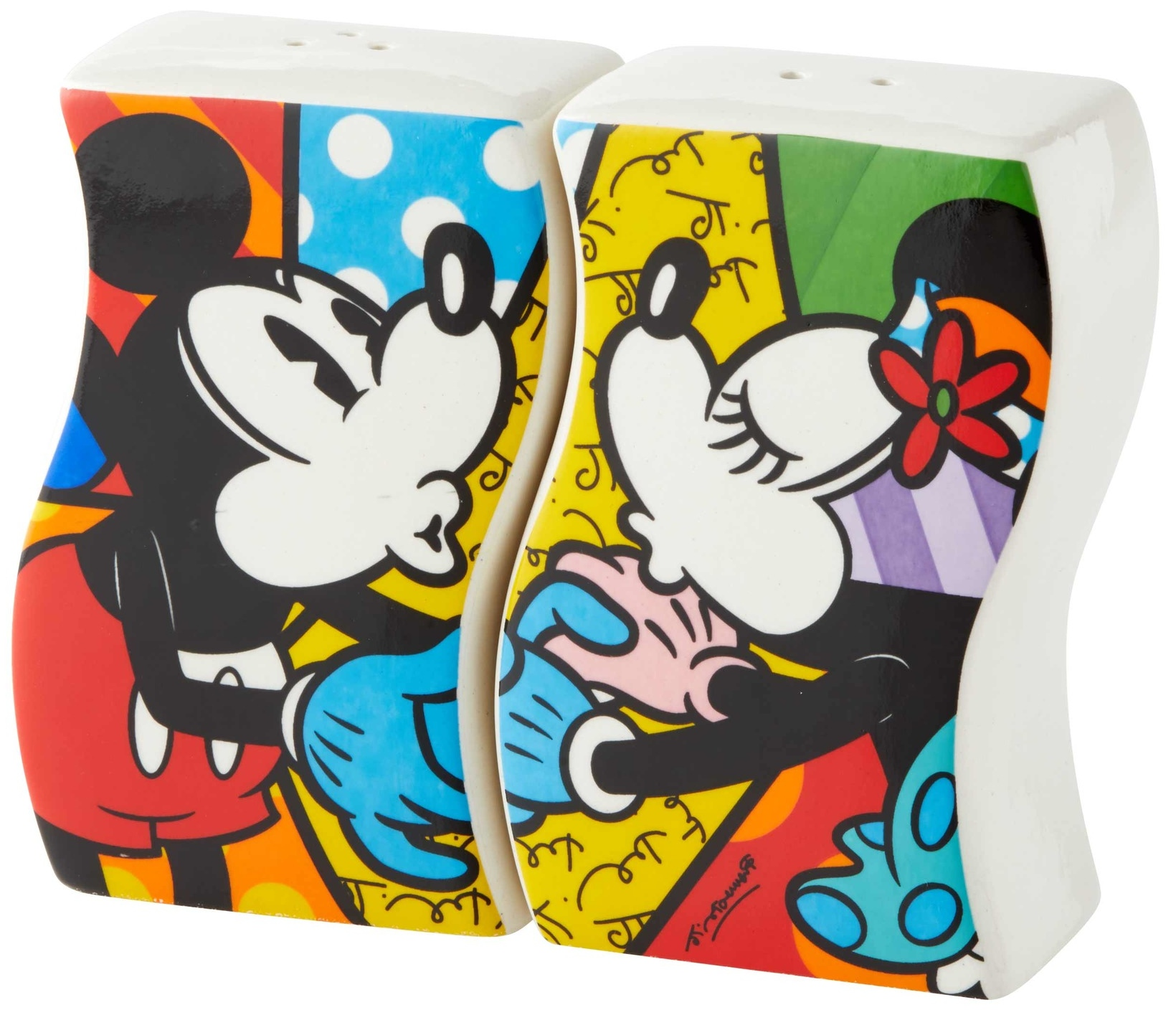 Britto Disney 6004978 Mickey and Minnie S&P Shakers