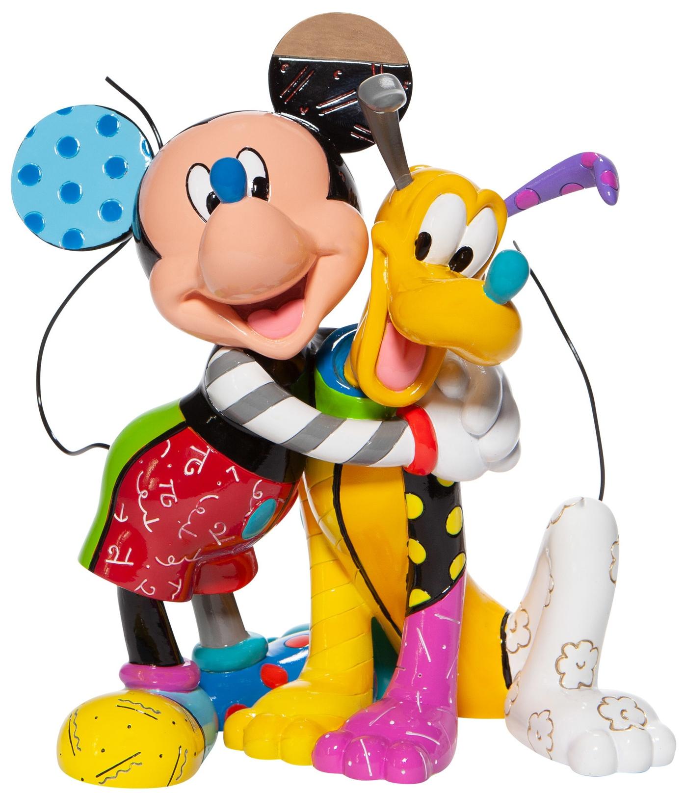 Britto Disney 6007094 Mickey & Pluto Figurine