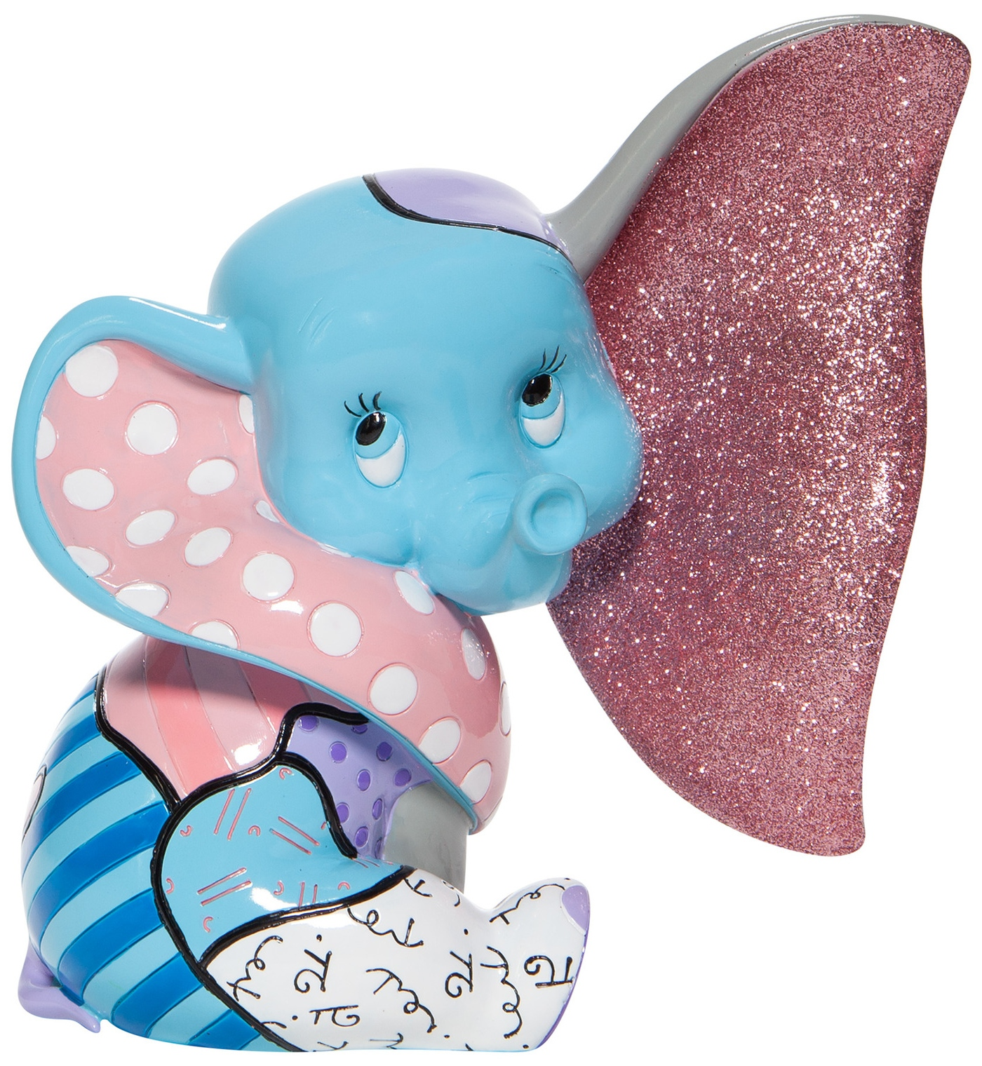 Britto Disney 6007096 Baby Dumbo Figurine