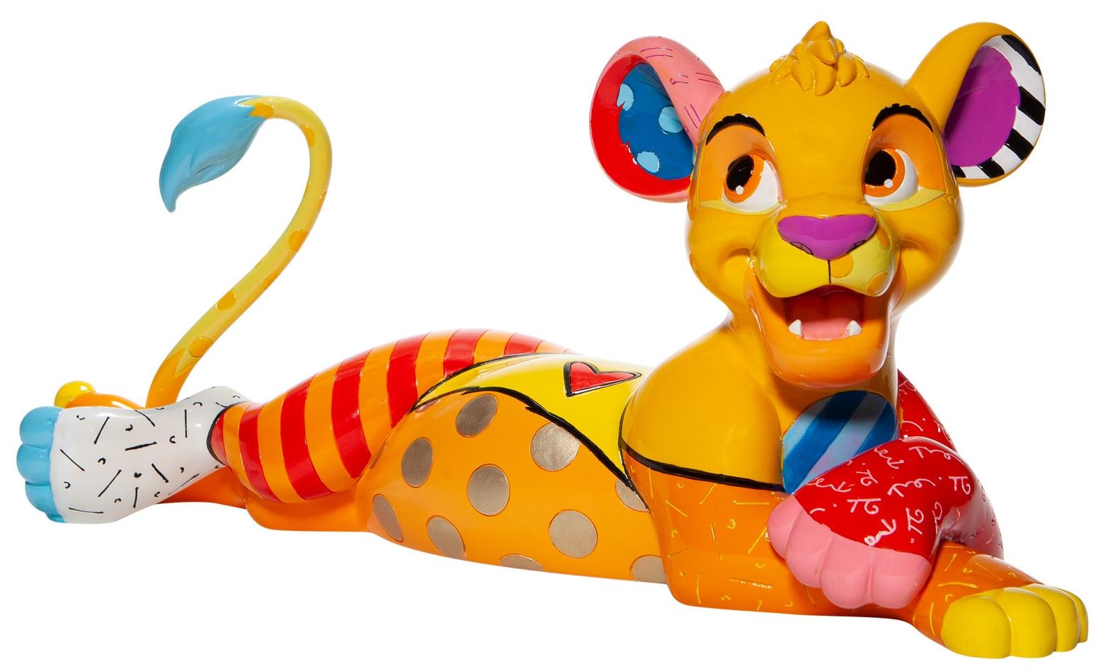 Disney by Britto 6007099N Simba Big Figurine