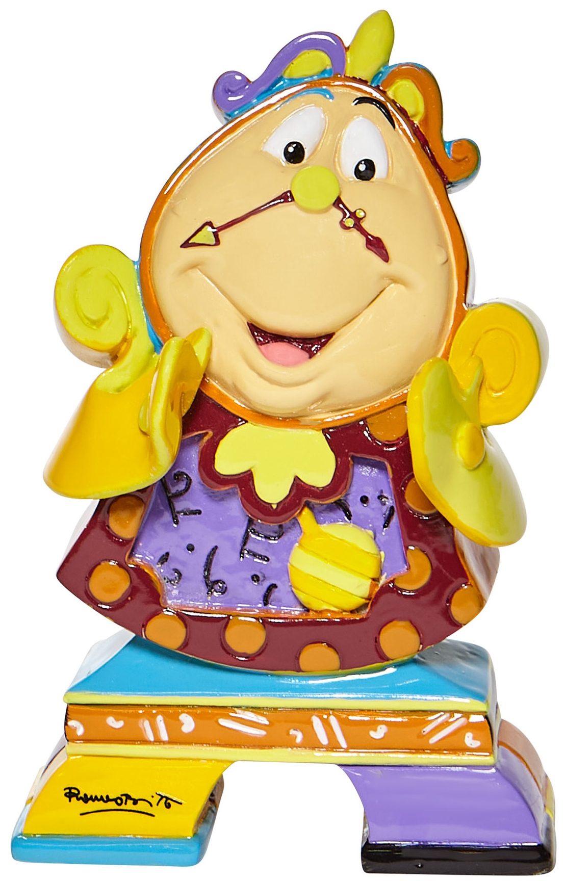 Britto Disney 6008530N Cogsworth Mini Figurine