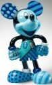 Britto Disney 4019375 Mickey Figurine Blue Figurine