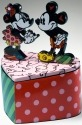 Britto Disney 4019376 Mickey & Minnie Lidded Box Covered Box
