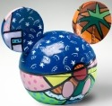 Britto Disney 4021840 Mickey Ears Box Summer Covered Box