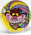 Britto Disney 4024504 Chesire Cat Plate Plate