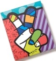 Disney by Britto 4025527 Notepad Peace Love Mickey Notepad
