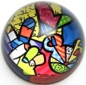 Britto Disney 4025539 Peace Love Mickey Paperweight