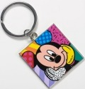 Disney by Britto 4037558 Mickey Square keychain