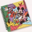 Britto Disney 4038480 Fab 5 Journal