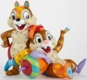 Britto Disney 4039139 Chip and Dale Figurine