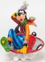 Britto Disney 4046359 Goofy in Disk Sled