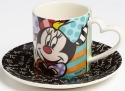 Britto Disney 4046376 Minnie Espresso cup sauc