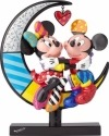 Disney by Britto 4059575 Mickey and Minnie on Moon