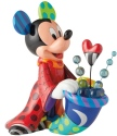 Disney by Britto 6003339 Sorcerer Mickey Big Figurine