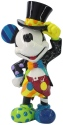 Britto Disney 6006083 Mickey Mouse with Top Hat Figurine