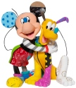 Britto Disney 6007094 Mickey & Pluto Figurine