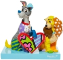 Britto Disney 6008528 Lady and the Tramp Figurine