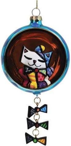 Britto by Westland 22003 Cat Ball Ornament