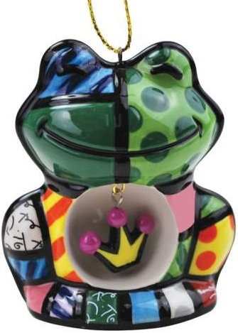Britto by Westland 22005 Frog Ornament