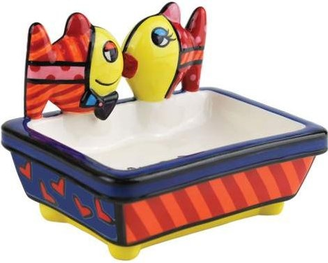 Britto by Westland 22019 Deeply In Love Fish Soap Dish