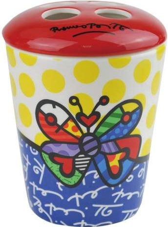 Britto by Westland 22022 Butterfly Toothbrush Holder