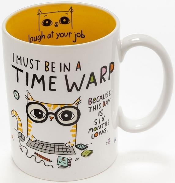 Cats At Work 4048920 Mug Time Warp