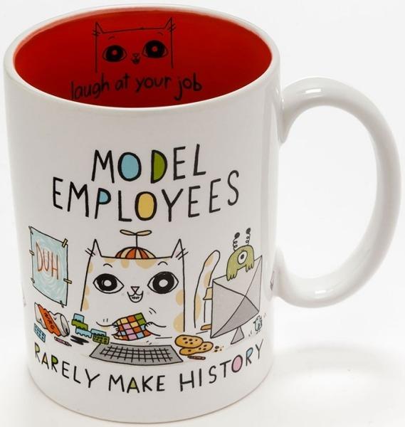 Cats At Work 4048922 Mug Model Employees