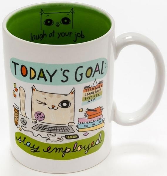 Cats At Work 4048926 Mug Today's Goal
