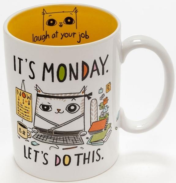 Cats At Work 4048927 Mug It'S Monday