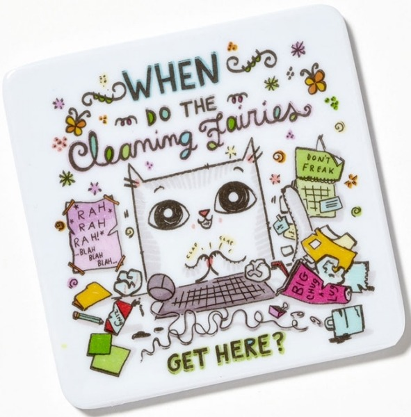 Special Sale 4048932 Cats at Work 4048932 Cleaning Fairies Magnet