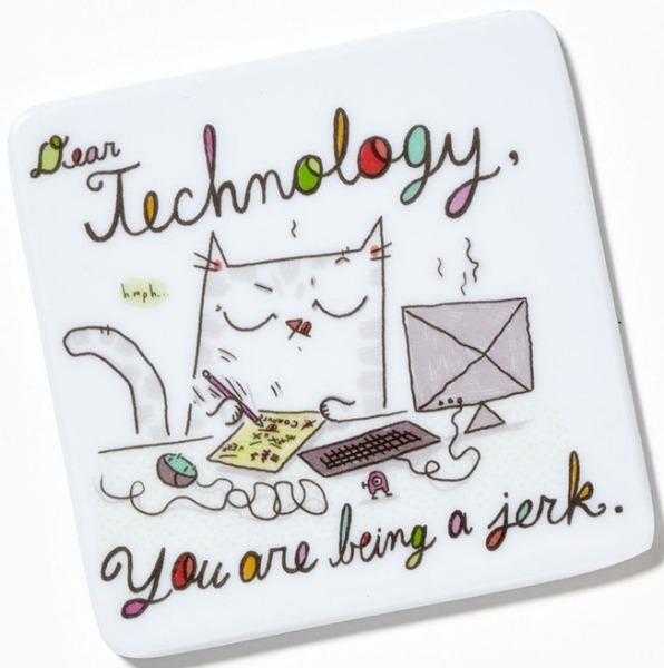 Cats At Work 4048934 Magnet Dear Technology