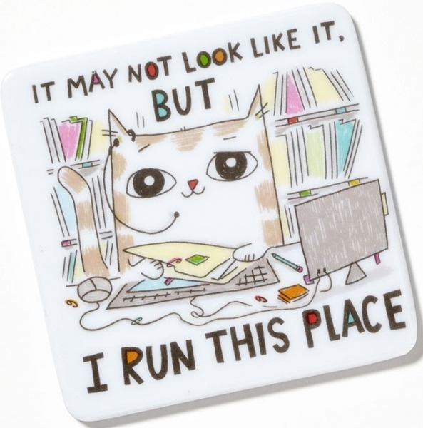 Special Sale 4048935 Cats at Work 4048935 I Run This Place Magnet