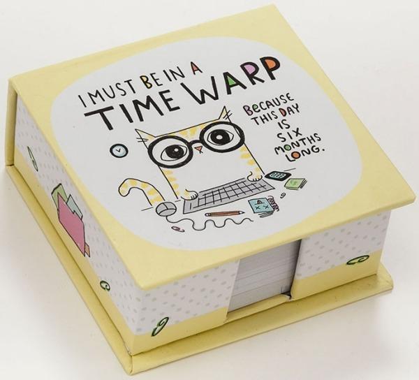 Cats At Work 4048942 Memo Cube Time Warp