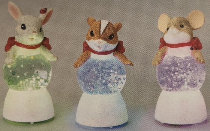Charming Tails 132091 Mouse Glitter Buddies
