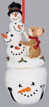 Charming Tails 132092 Mouse Ornament