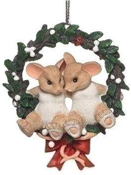Charming Tails 132096 First Christmas Ornament