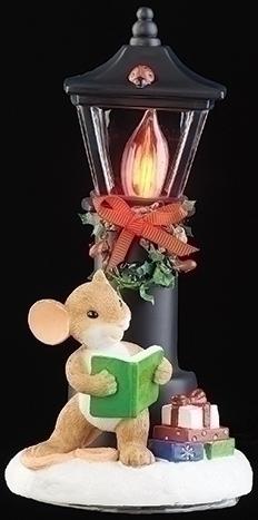 Charming Tails 133497 Lamppost Nightlight