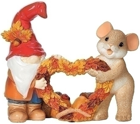 Charming Tails 134206N Harvest Gnome Figurine