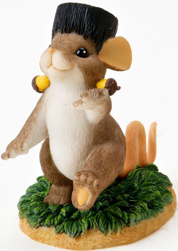 Charming Tails 4017312 Franken Mouse Figurine
