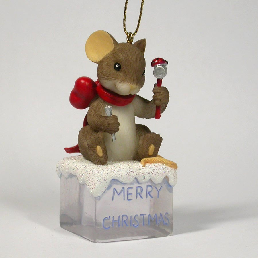 Charming Tails 4017333 Ice Wish You A Merry Christmas