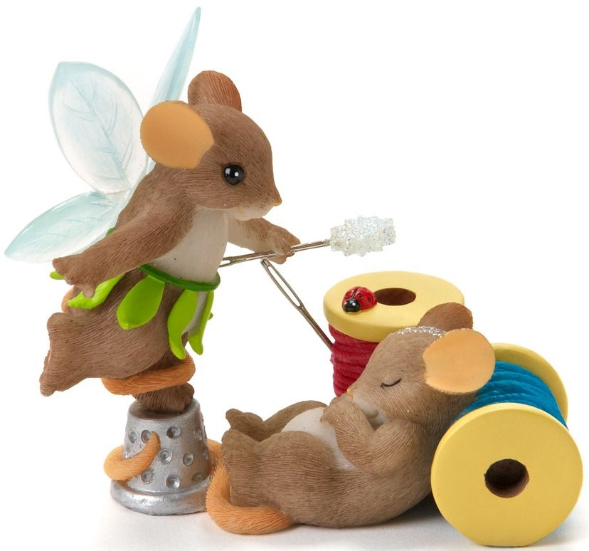 Charming Tails 4017341 May Your Dreams Be Enchanted Figurine