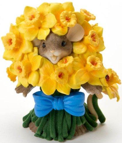 Charming Tails 4020484 Feelin Daffodilly Delightful Figurine