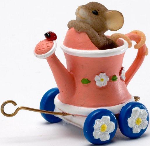 Charming Tails 4020488 Spring Blossom Express Caboose Figurine