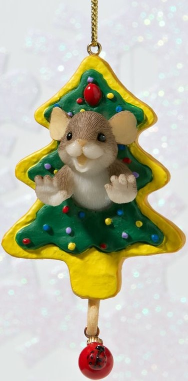 Charming Tails 4023669 Have Fun Working Through the Holiday Sweets Ornament
