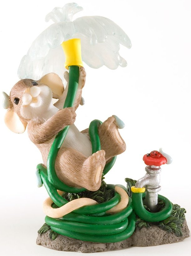 Charming Tails 4025766 May You Be Drenched in Happiness Figurine