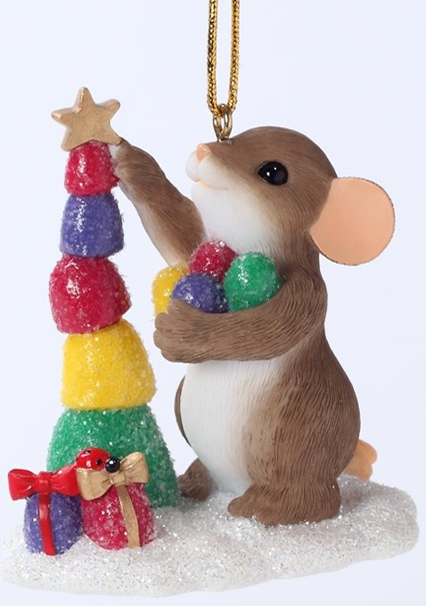 Charming Tails 4027670 Have the Sweetest Christmas Ornament