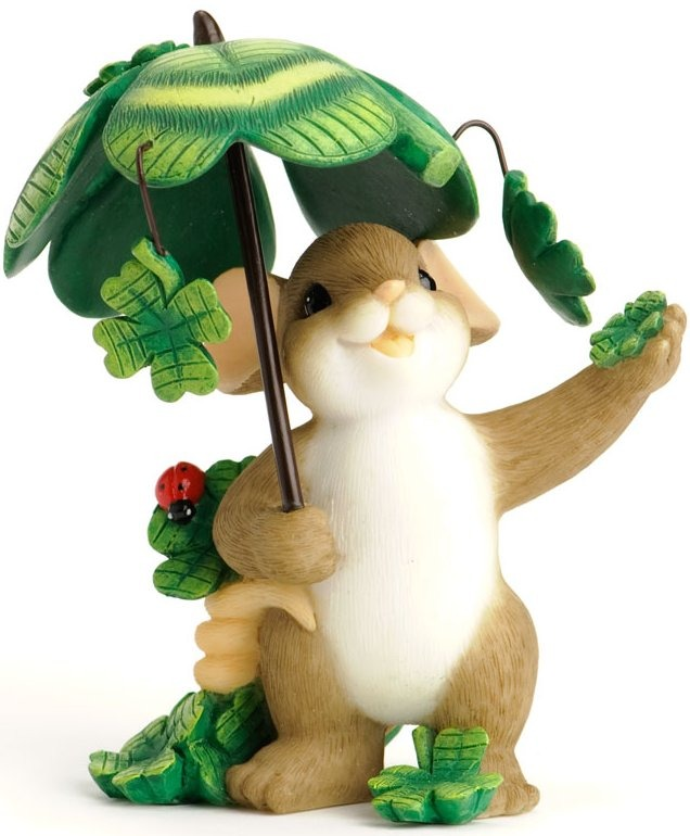 Charming Tails 4030943 May You Be Showered with Luck Figurine