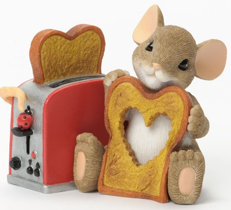 Charming Tails 4035254 You Make My Heart All Toasty Warm