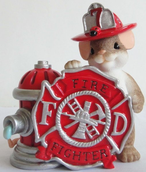 Charming Tails 4042543 Firefighter