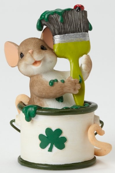 Charming Tails 4043853 Lets Paint the Town Green